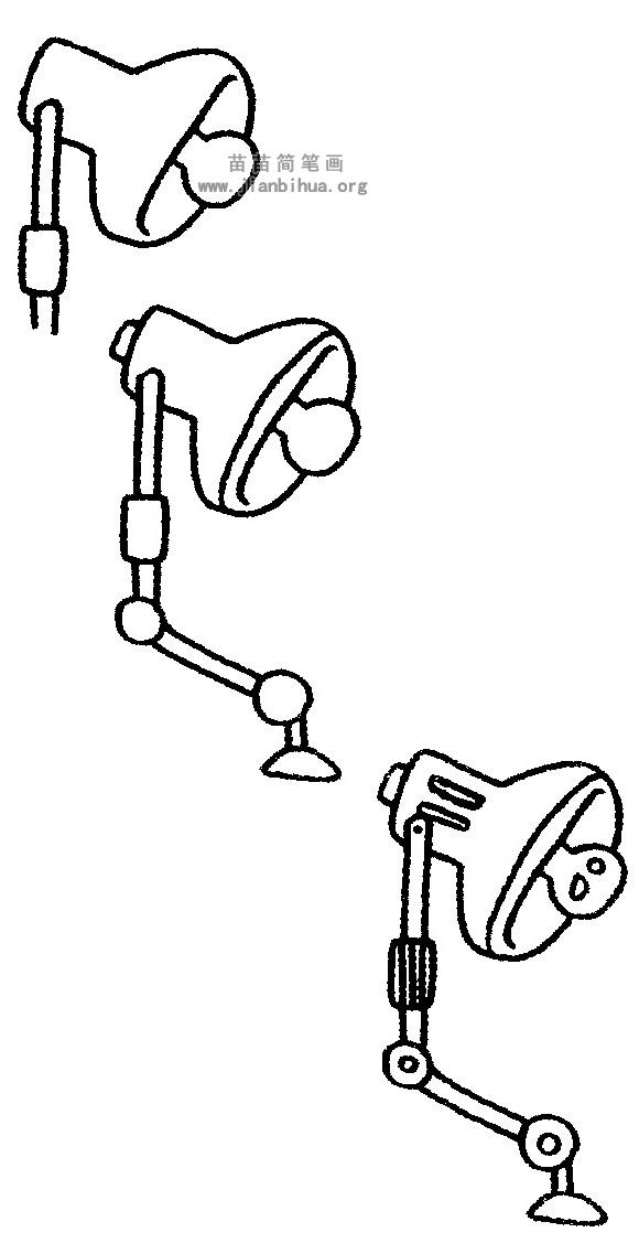 台灯简笔画图片与知识