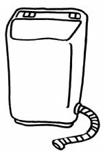 洗衣机简笔画图片与知识