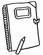 笔记本简笔画图片与知识