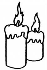蜡烛简笔画图片与知识
