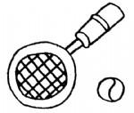 网球拍简笔画图片与知识