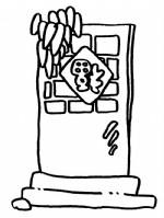 一扇门的简笔画图片与知识