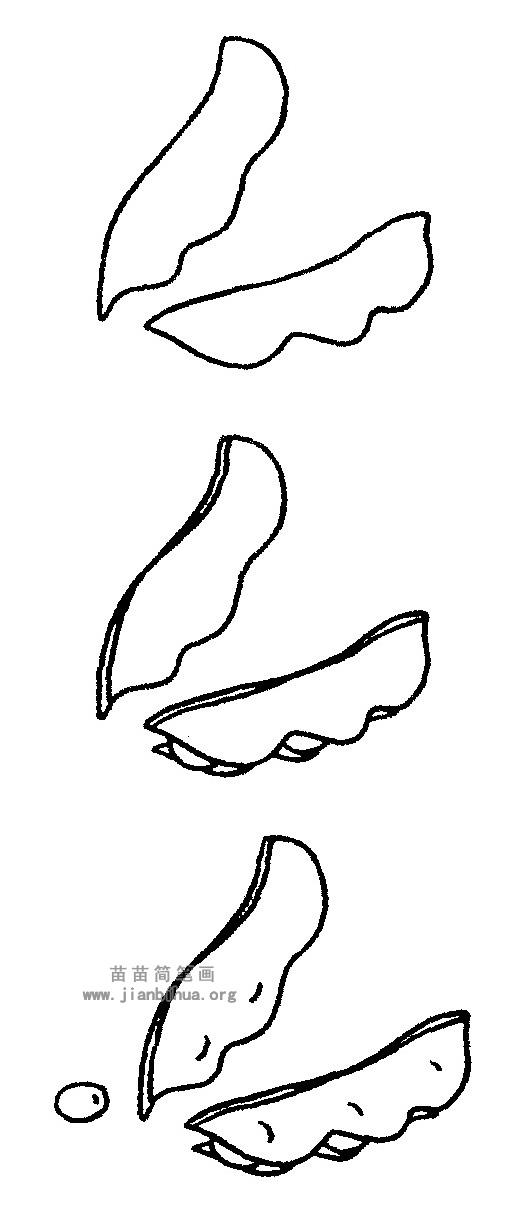 豆角简笔画