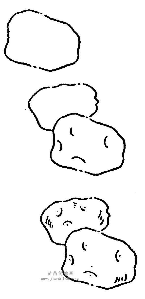 甘薯简笔画