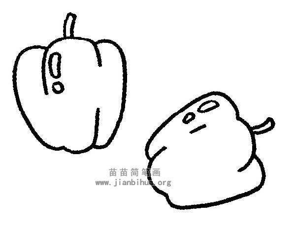 青椒简笔画