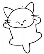 猫的简笔画、儿歌与知识