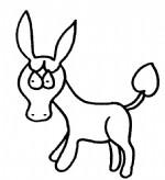 毛驴简笔画、儿歌与知识