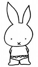 小兔子简笔画、儿歌与知识