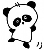 熊猫简笔画、儿歌与知识