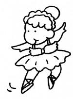 跳舞简笔画、儿歌与知识