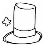 魔术帽简笔画、儿歌与知识