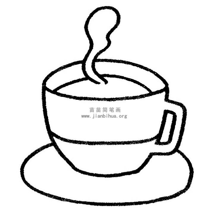 一杯茶简笔画 儿歌与知识