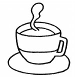 一杯茶简笔画、儿歌与知识
