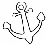 船锚简笔画、儿歌与知识