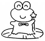 青蛙简笔画、儿歌与知识