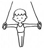 体操简笔画、儿歌与知识