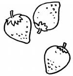 草莓简笔画、儿歌与知识