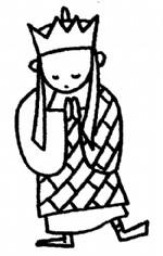 唐僧简笔画、儿歌与知识
