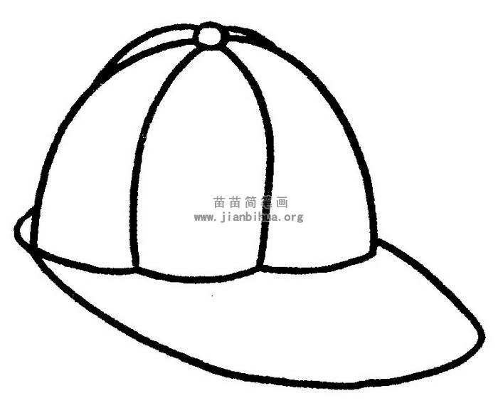 太阳帽简笔画 儿歌与知识图片
