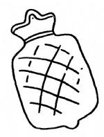 热水袋简笔画、儿歌与知识