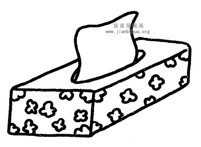 纸巾简笔画