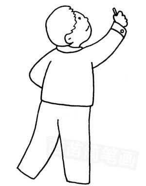 怎样画出教师的形象_老师怎么画简笔画图解