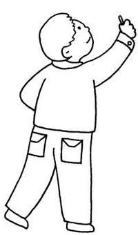 老师怎么画简笔画图解