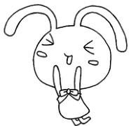 兔子怎么画简笔画图解