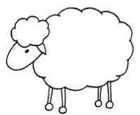 羊怎么画简笔画图解