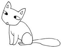 狐狸怎么画简笔画图解