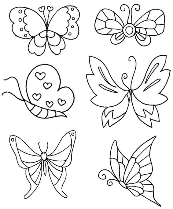 蝴蝶怎么画简笔画图解