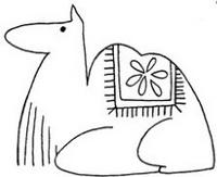 骆驼怎么画简笔画图解