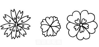 樱花怎么画简笔画图解