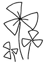 三叶草怎么画简笔画图解