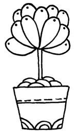 多肉植物怎么画简笔画图解