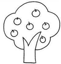 果树怎么画简笔画图解