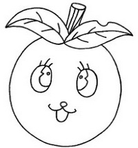 苹果怎么画简笔画图解