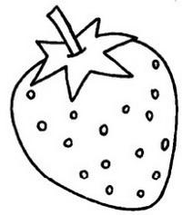 草莓怎么画简笔画图解