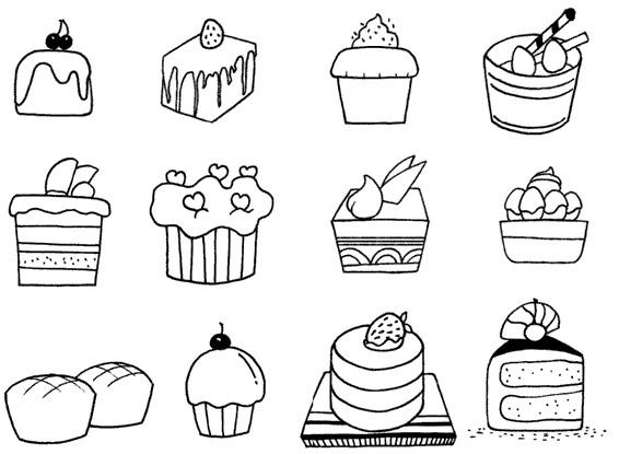 各种蔬菜简笔画大全_蛋糕怎么画简笔画图解