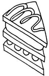 三明治怎么画简笔画图解