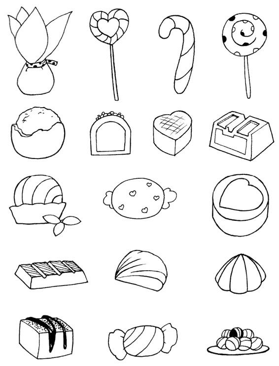 糖果怎么画简笔画图解