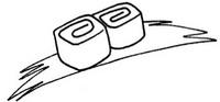寿司怎么画简笔画图解