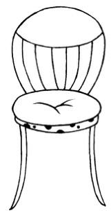 椅子怎么画简笔画图解