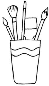办公用品怎么画简笔画图解