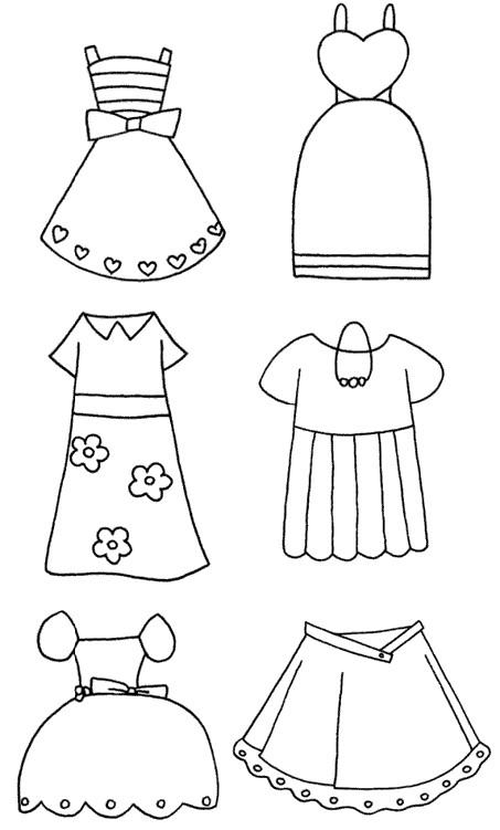 裙子怎么画简笔画图解