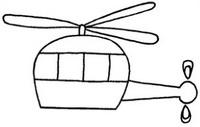 飞机怎么画简笔画图解