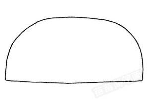 面包车怎么画简笔画图解