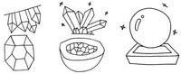 水晶怎么画简笔画图解