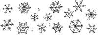 雪怎么画简笔画图解