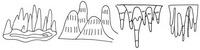 钟乳石怎么画简笔画图解